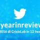 #yearinreview | Il 2016 di CrisisLab in 12 tweet